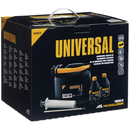 UNIVERSAL Rasenmäher-Starter-Set, schwarz