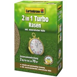 GARTENKRONE Rasensamen »Rasensamen 2-in-1 Turborasen 2 kg«