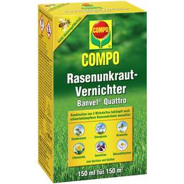 COMPO Rasenunkrautvernichter Banvel® Quattro 150 ml