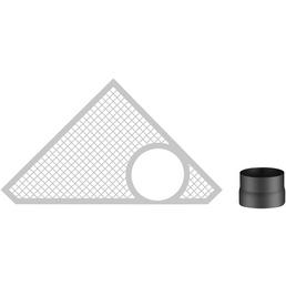 HAAS & SOHN Rauchanschluss-Set, Ø 150 mm