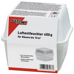 GO/ON! Raumentfeuchter, für Räume bis 15 m², 0,75 l, nachfüllbar