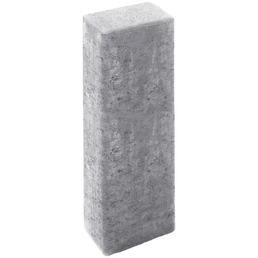 MR. GARDENER Rechteck-Palisade, Beton, 60  x  16,5  x  12 cm, 1 Stück