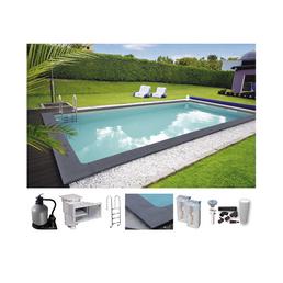 KWAD Rechteckpool Set , rechteckig, BxLxH: 300 x 600 x 150 cm