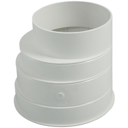 MARLEY Reduktion »Lüftungtechnik«, Kunststoff, Ø 12,5 cm