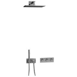 IDEAL STANDARD Regendusche »Archimodule«, Höhe: 21 cm, chromfarben