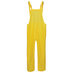 SAFETY AND MORE Regenlatzhose Basic Polyester gelb Gr. M