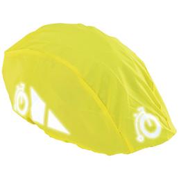 PROPHETE Regenüberzug, für Fahrradhelme, gelb
