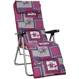 BEST Relaxliege »Azur«, Stahl, Klappfunktion/Mehrfach verstellbare Rückenlehnen