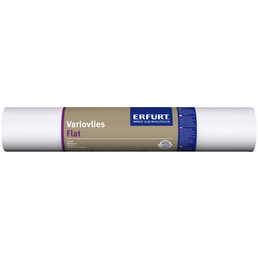 ERFURT Renoviervlies »Flat«, BxL: 0,53 x 20 m, weiß