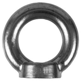 SEILFLECHTER Ringmutter, M10, Silber, Edelstahl
