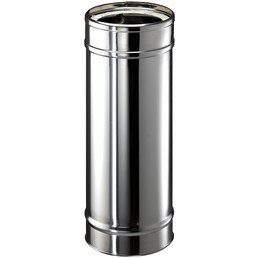 ZICKWOLFF Rohrelement, ØxL: 15 x 54 cm, Stärke: 25 mm, Edelstahl