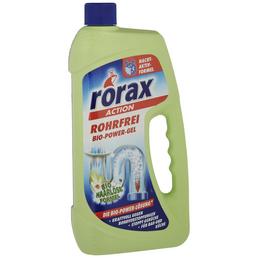 RORAX Rohrreiniger, Flasche mit Griff, 1 l
