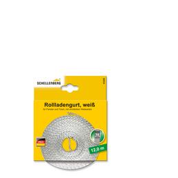 SCHELLENBERG Rolladengurt, Breite: 3,4 cm, weiß