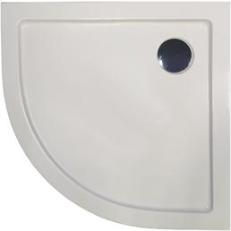 SANOTECHNIK Rundduschwanne, BxT: 90 x 90 cm, weiß