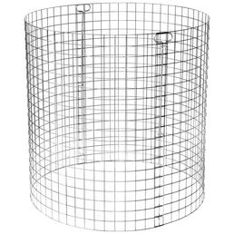 BELLISSA Rundkomposter, Ø x H: 95 x 95 cm, Metall