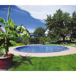 SUMMER FUN Rundpool Set »Basic«, rund, Ø x H: 400 x 120 cm