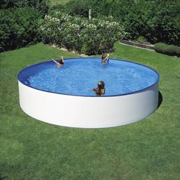 MR. GARDENER Rundpool Set , rund, Ø x H: 450 x 90 cm