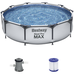 BESTWAY Rundpool »Steel Pro Max™«, rund, Ø x H: 305 x 76 cm