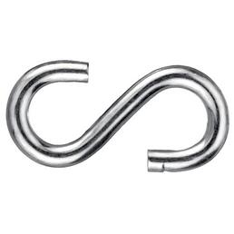 GECCO S-Haken Stahl, 4  Stück