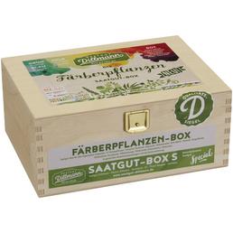 Saatgut-Box Färberpflanzen