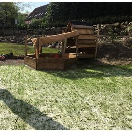 Saatgutmatte »Wollrasen 36 m²«, Bio-Qualität