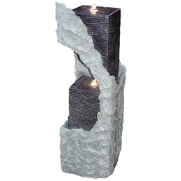GRANIMEX Säule »Lizu«, Höhe: 88 cm, granitfarben, inkl. Pumpe