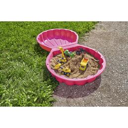 BIG Sand-Wasser-Muschel, BxL: 88 x 88 cm, Kunststoff pink