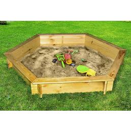 PROMADINO Sandkasten »Fynja«, BxLxH: 173x148x21 cm