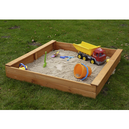 PROMADINO Sandkasten »Multi«, BxLxH: 140x140x22 cm