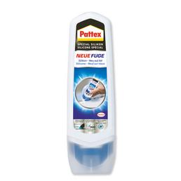 PATTEX Sanitär-Silikon »Pattex Neue Fuge«, grau, 0,1 l