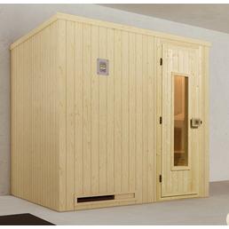 WEKA Sauna »Halmstad Gr.2« für 3 Personen ohne Ofen