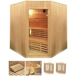 HOME DELUXE Sauna »Relax« mit Ofen, integrierte Steuerung