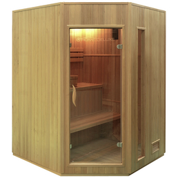 HOME DELUXE Sauna »Relax XL« inkl. 4.5 kW Saunaofen mit integrierter Steuerung für 4 Personen