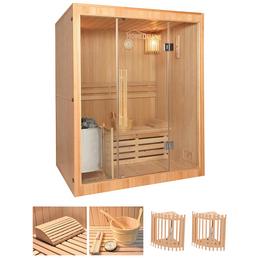 HOME DELUXE Sauna »Skyline« mit Ofen, integrierte Steuerung