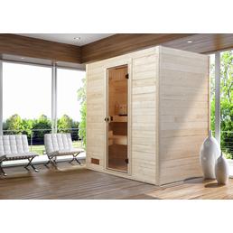 WEKA Sauna »Valida 2«, BxTxH: 189 x 139 x 203,5 cm, ohne Saunaofen