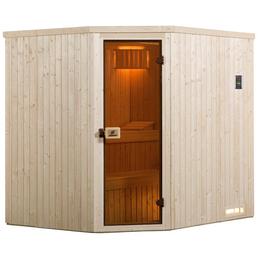 WEKA Sauna »Varberg«, für 2 Personen ohne Ofen