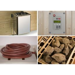 WEKA Saunaofen-Set »OS« inkl. externer Steuerung, 7,5 kW