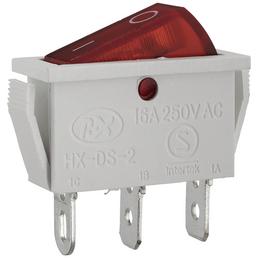 DÜWI Schalter, Weiß/Rot, Kunststoff