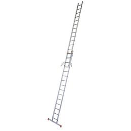 KRAUSE Schiebeleiter »MONTO«, Anzahl Sprossen: 30, Aluminium