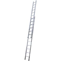 KRAUSE Schiebeleiter »STABILO«, 24 Sprossen, Aluminium