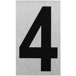 """SEILFLECHTER Schild, """"4"""", BxH: 10 x 6 cm"""