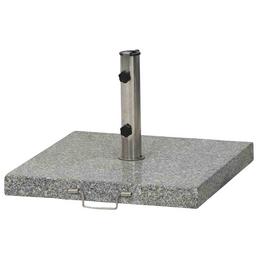 SIENA GARDEN Schirmständer, Edelstahl/Granit, BxHxL: 54 x 5,5 x 54 cm