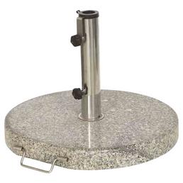 SIENA GARDEN Schirmständer, Granit, geeignet für Rohrdurchmesser 25-48 mm
