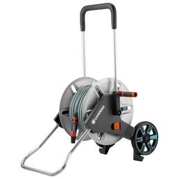 Schlauchwagen-Set, schwarz/orange/tuerkis/aluminiumfarben