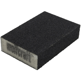 WOLFCRAFT Schleifblock Schaumgummi 10 x 7 x 2,8 cm