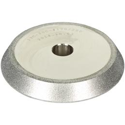 HOLZMANN Schleifscheibe, BSG13PRO-HM, Silber, 110 mm Durchmesser