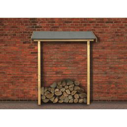 KARIBU Schleppdach »ECO«, Breite: 143 cm, Dach: , Farbe: natur