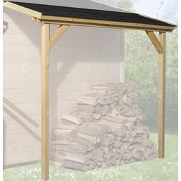 WEKA Schleppdach für Gartenhäuser, BxT: 80 x 200 cm, Holz