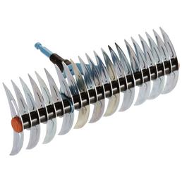 GARDENA Schneidrechen »combisystem«, Arbeitsbreite: 35 cm, Metall, silberfarben