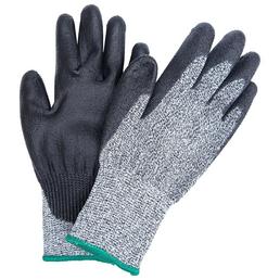 MR. GARDENER Schnittschutzhandschuhe »HPPE grau/schwarz«, schwarz/grau, Nitrilbeschichtet